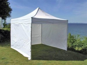 3x3 white marquee